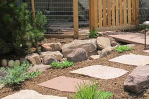 Natural Stone Steppers path